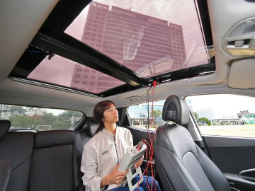 Paneles solares de Hyundai