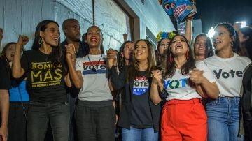 Actrices latinas se movilizan contra Trump