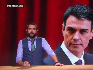 """La reacción de Dani Mateo a las declaraciones de Sánchez sobre el delito de rebelión: """"En cinco meses cambió de trabajo, de casa y de opinión"""""""