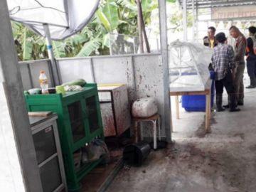 Restaurante tailandés donde se ha encontrado un cadáver