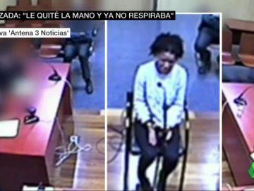 """Primeras imágenes de Ana Julia Quezada declarando por el asesinato de Gabriel: """"Le puse la mano en la boca para que no me insultara y cuando la quité no respiraba"""""""