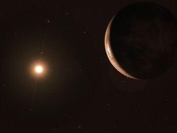 La estrella única más cercana al Sol alberga un exoplaneta al menos 3,2 veces tan masivo como la Tierra