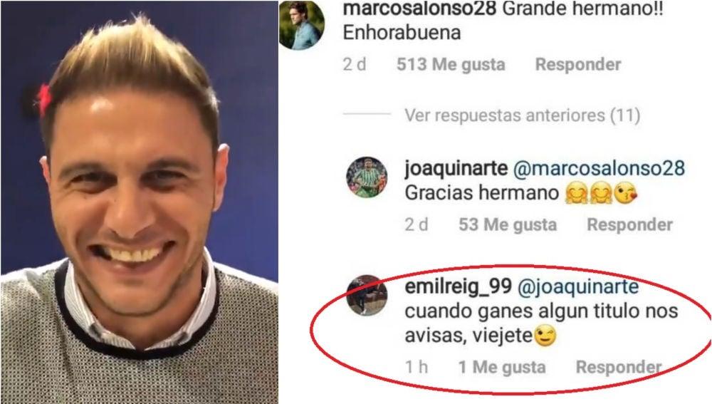 Joaquín responde