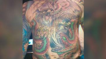 Los tatuajes de Cheryl Wenzel
