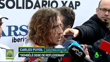 Puyol habló del caso Dembélé y le dio un consejo