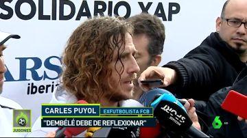 Puyol habló sobre el 'caso' Dembélé y le dio un consejo