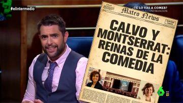 """Calvo y Montserrat, las """"reinas"""" de la comedia"""