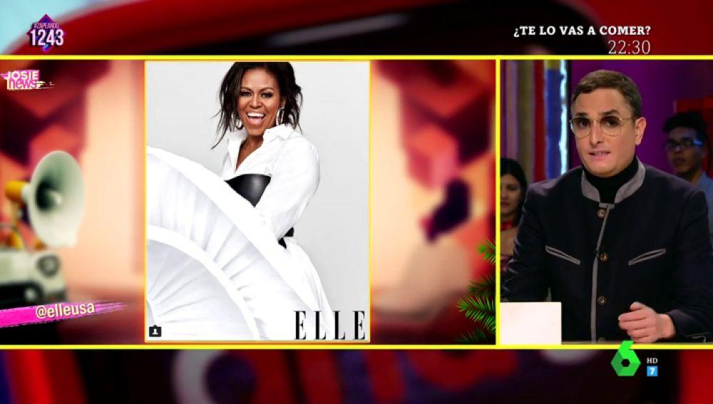 Michelle Obama y Josie