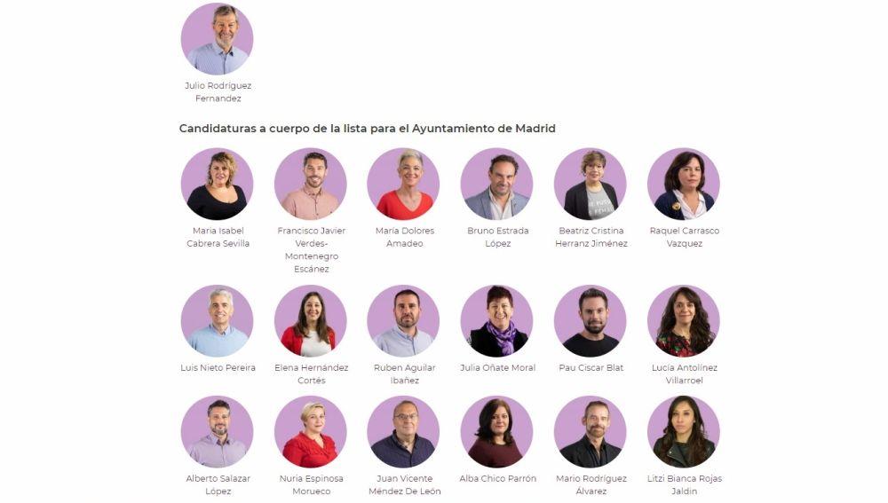 LA SEXTA TV | Podemos presenta \'Unidad por Madrid\', su lista con ...