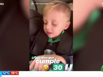 El tierno vídeo de Marco, el hijo de Sergio Ramos y Pilar Rubio, en su ¿30 cumpleaños?