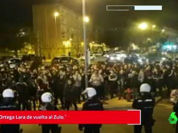 Concentración contra el acto de Vox en Murcia