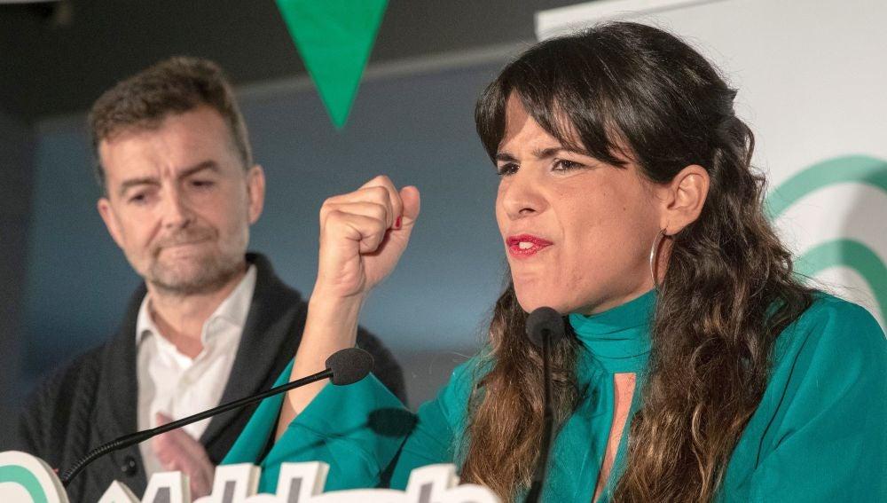Los candidatos de Adelante Andalucía a la presidencia y vicepresidencia de la Junta de Andalucía