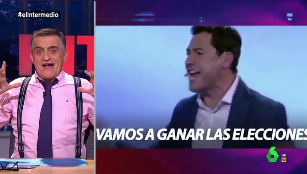 """Este es el surrealista de vídeo de Juanma Moreno para las elecciones andaluzas: """"¿Quién no está dispuesto a hacer historia?"""""""