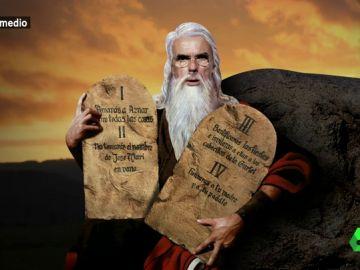 """El papa Wyoming y el monaguillo Mateo repasan los """"diez mandamientos de la iglesia aznariana"""": """"Todos somos iguales ante los ojos de Aznar, igual de inferiores"""""""