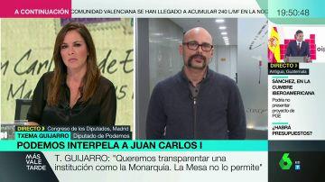 """Txema Guijjaro: """"Hay un halo de silencio que impide que los españoles conozcamos la verdad sobre los negocios del rey emérito"""""""