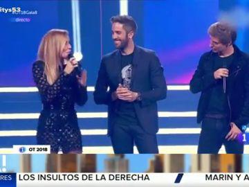 Carlos Baute y Marta Sánchez en Operación Triunfo