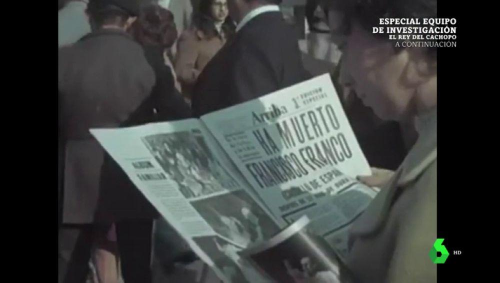 """""""Rodead al rey del mismo afecto que me habéis brindado"""": el fragmento del testamento de Franco que permitió """"parar el golpe del 23F"""""""