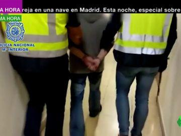 Primeras imágenes de la detención del 'rey del cachopo' en Zaragoza: no ha opuesto resistencia al ser arrestado