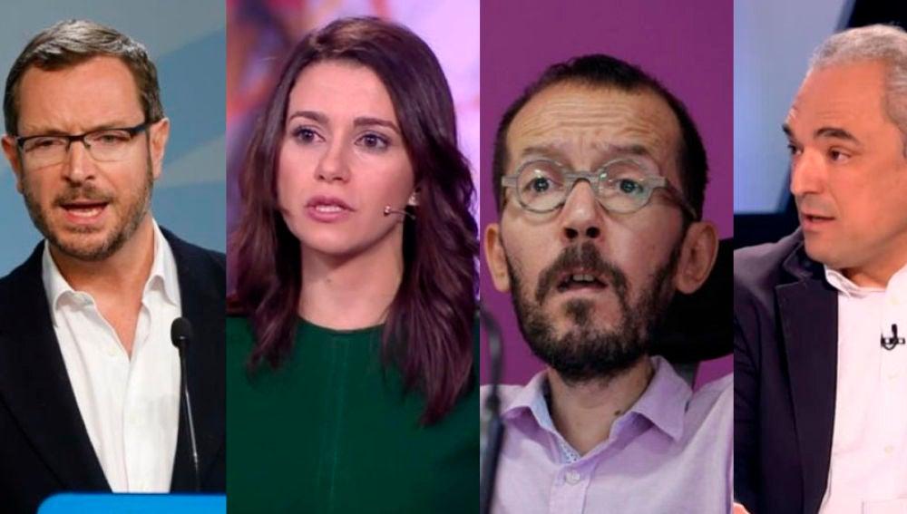 Maroto, Arrimadas, Echenique y Simancas visitan El Objetivo
