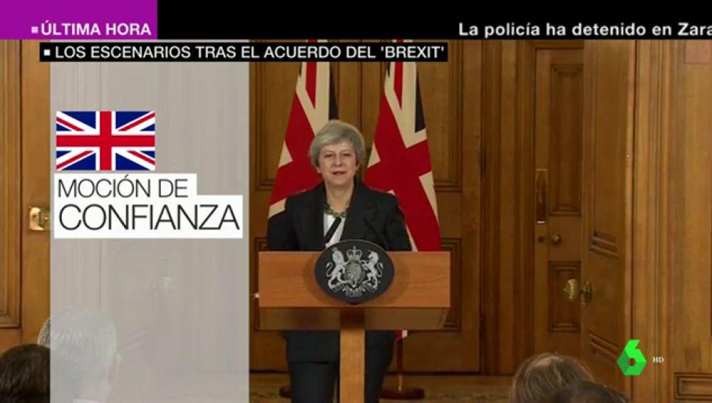 Bloqueo del Parlamento, moción de confianza, elecciones o segundo referéndum: estos son los escenarios a los que se enfrenta Theresa May con el Brexit