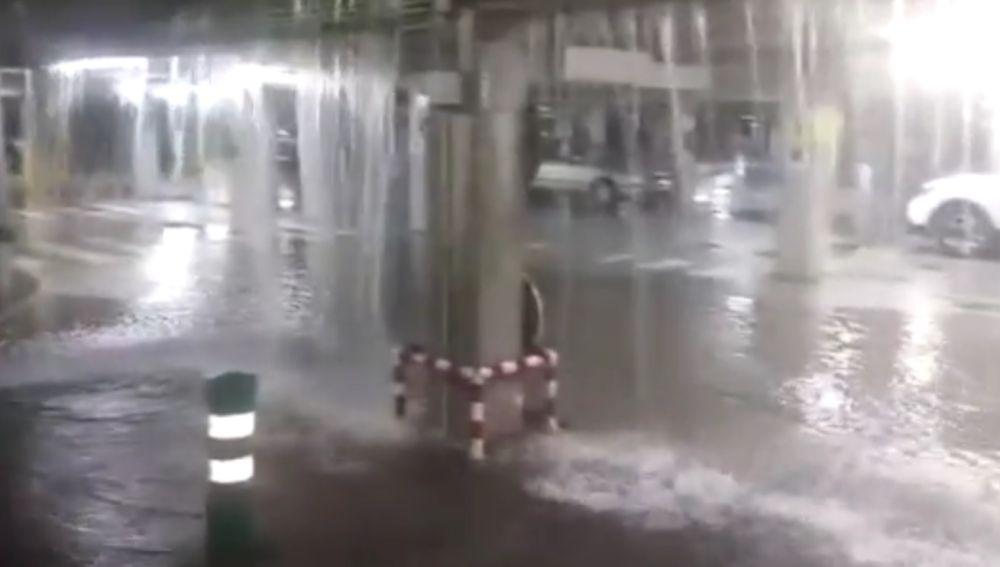 Inundación en el Hosptial de Alzira
