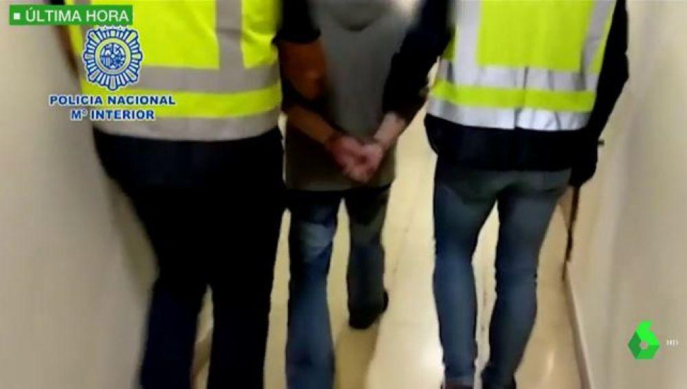 Imágenes de la detención de César Román, el 'rey del Cachopo'