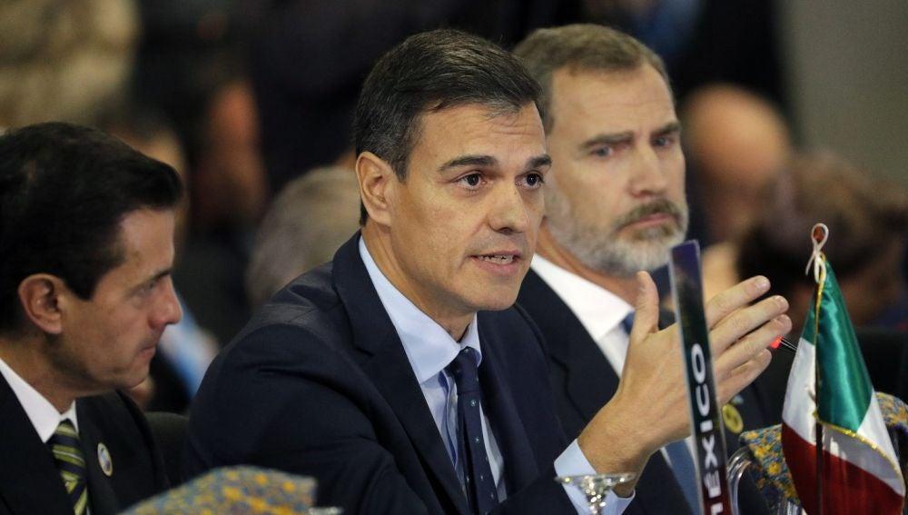 Imagen de Pedro Sánchez en Guatemala