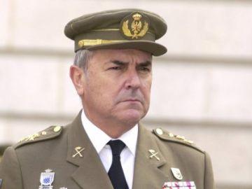 Luis Alejandre, exJefe del Estado Mayor del Ejército