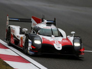 El Toyota de Fernando Alonso