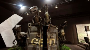 El T-Rex, joya de la exposición de 'Jurassic World'