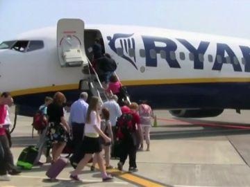 Imagen de archivo de pasajeros de Ryanair