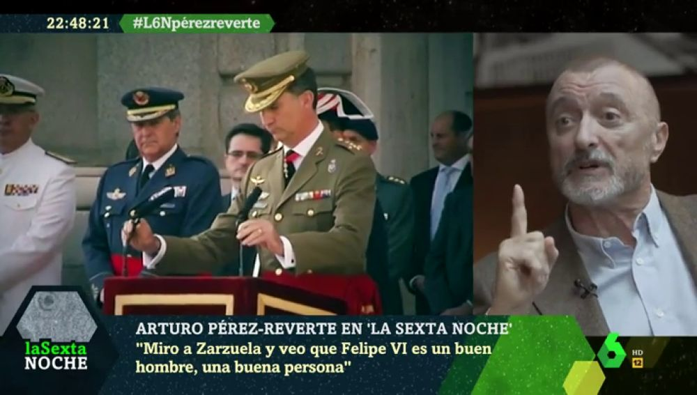 """Arturo Pérez-Reverte: """"Soy republicano pero Felipe VI es una buena persona. ¿Se imaginan a Zapatero, Rajoy o Aznar como presidentes de la República?"""""""