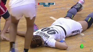 La salvaje agresión que sufrió Mireya González durante un partido de balonmano