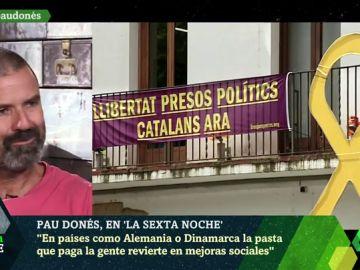 """El análisis de Pau Donés sobre el conflicto en Cataluña: """"A día de hoy hay presos políticos no violentos en la cárcel"""""""