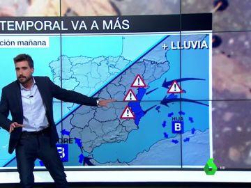 Adrián Cordero y la previsión del tiempo