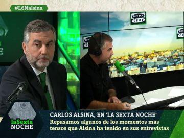 Pablo Iglesias, Juan Luis Cebrián, Aznar, García Egea… los momentos más tensos de Carlos Alsina en Más de uno