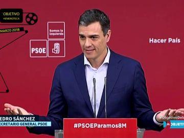 Esto es lo que decía Pedro Sánchez en la oposición sobre Presupuestos y lo que dice ahora como presidente