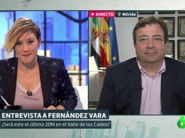 Guillermo Fernández Vara en Liarla Pardo