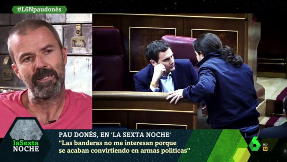 Pau Donés confiesa que Albert Rivera, Pedro Sánchez y Pablo Iglesias le ilusionaron cuando accedieron a la política
