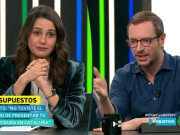 Inés Arrimadas y Javier Maroto