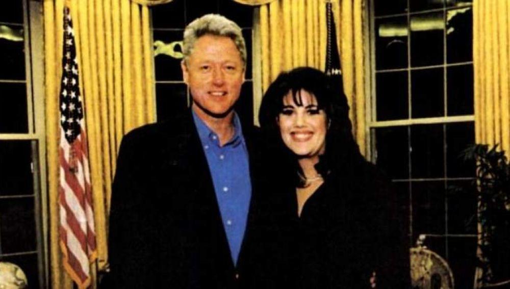 Bill Cinton y Mónica Lewinsky