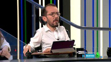 """Pablo Echenique: """"No se puede gobernar con unos Presupuestos del PP y con Real Decreto"""""""