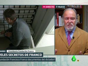 Juan Chicharro, presidente de la Fundación Franco