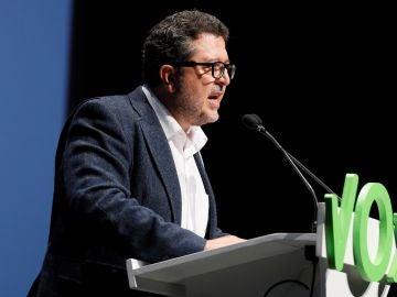 Francisco Serrano, diputado de Vox en Andalucía