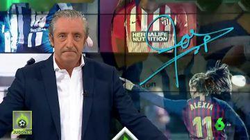 """Josep Pedrerol: """"Hay que seguir peleando por el fútbol femenino. Peleando por algo muy sencillo. Peleando por la igualdad"""""""