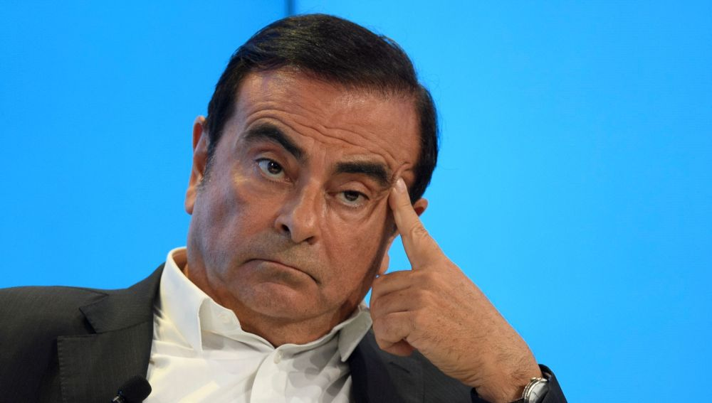 Carlos Ghosn, presidente de Nissan