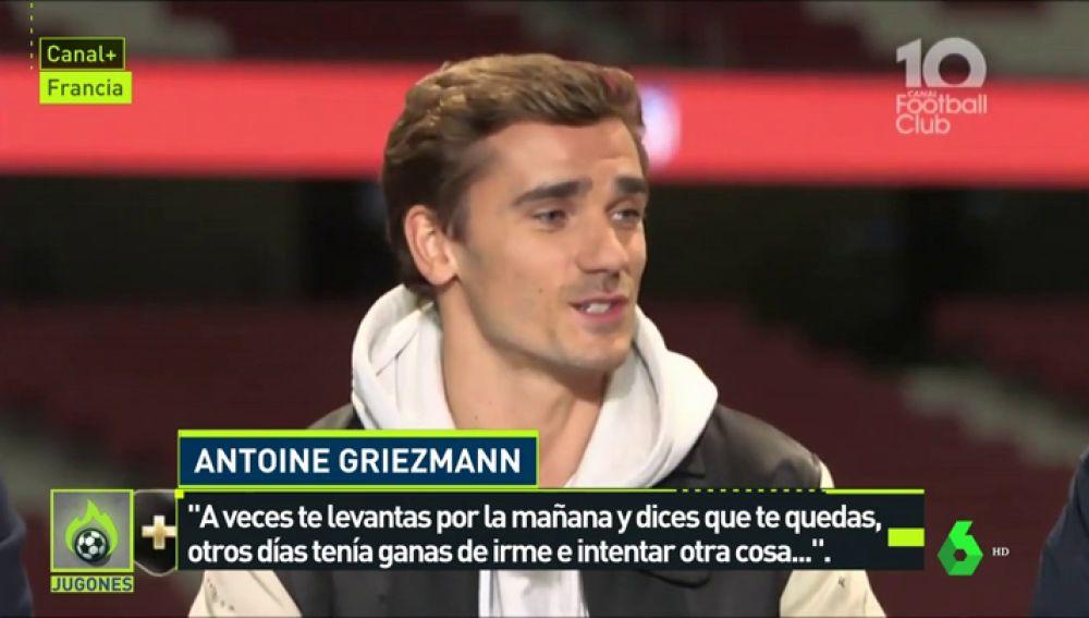 """Griezmann, sobre si su 'no' al Barcelona estuvo condicionado a Messi: """"Sí, puede ser. Inconscientemente eso influyó"""""""