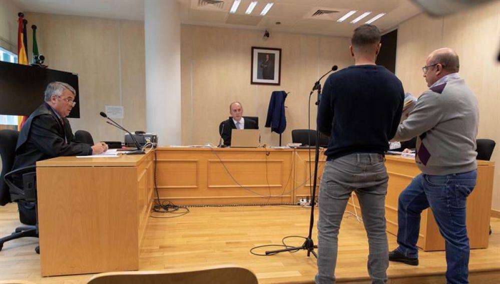 Ángel Boza, miembro de la Manada, declara ante el juez