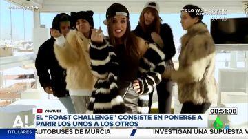 Dulceida ironiza con las críticas de sus haters en el  'roast yourself challenge'