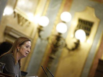 La presidenta del Congrso de los Diputados, Ana Pastor